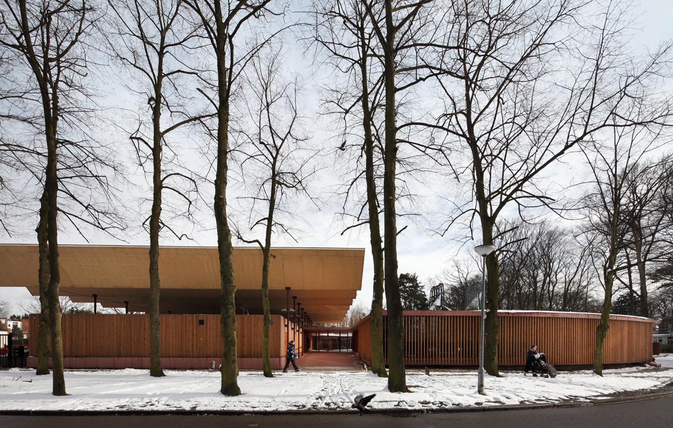 OO1610 Kinderdagverblijf en stelplaats groendienst, Speelpleinstraat Merksem, 51N4E, 2012
