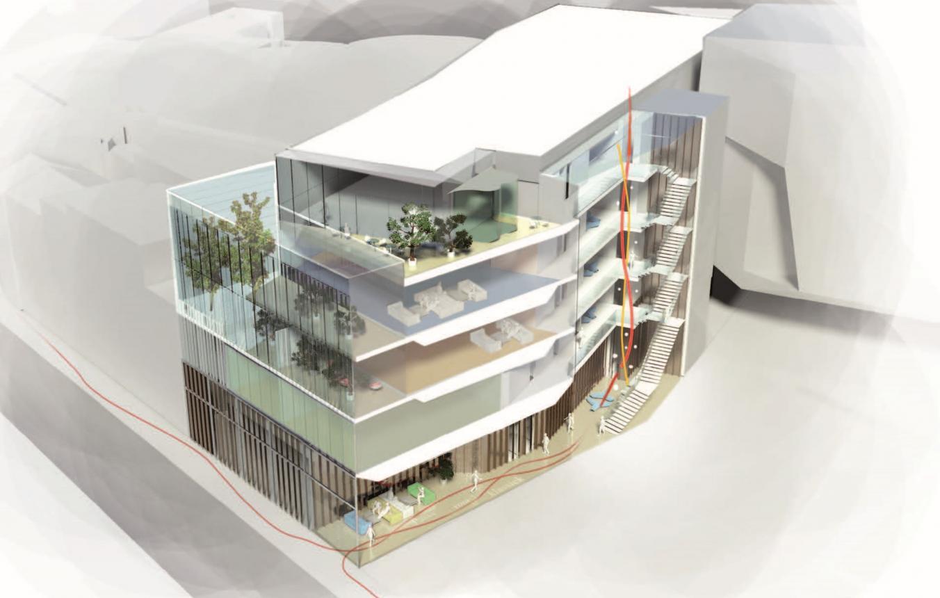 OO1704 Visiebeeld © Ian Simpson Architects, Kirkegaard Associates