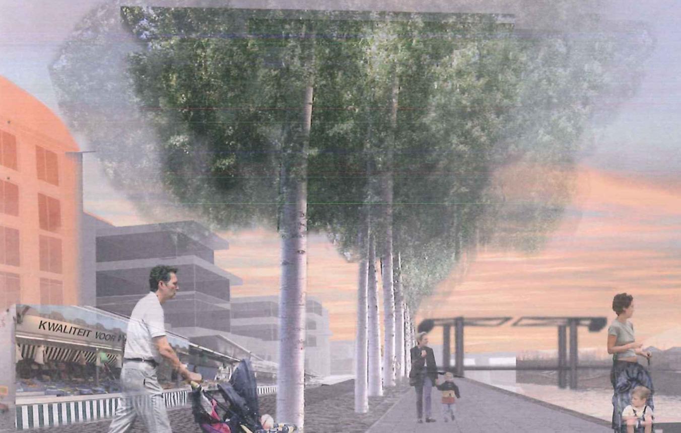 OO1802 Visiebeeld © PALMBOUT Urban Landscapes, Verne Architecten
