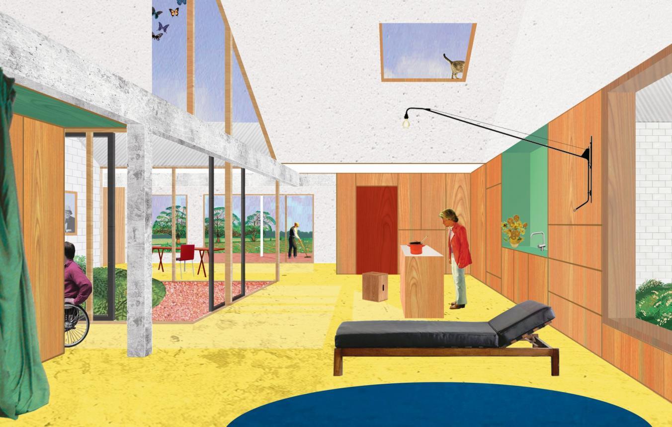 OO2906 Visiebeeld © Atelier d'Architecture Pierre Hebbelinck