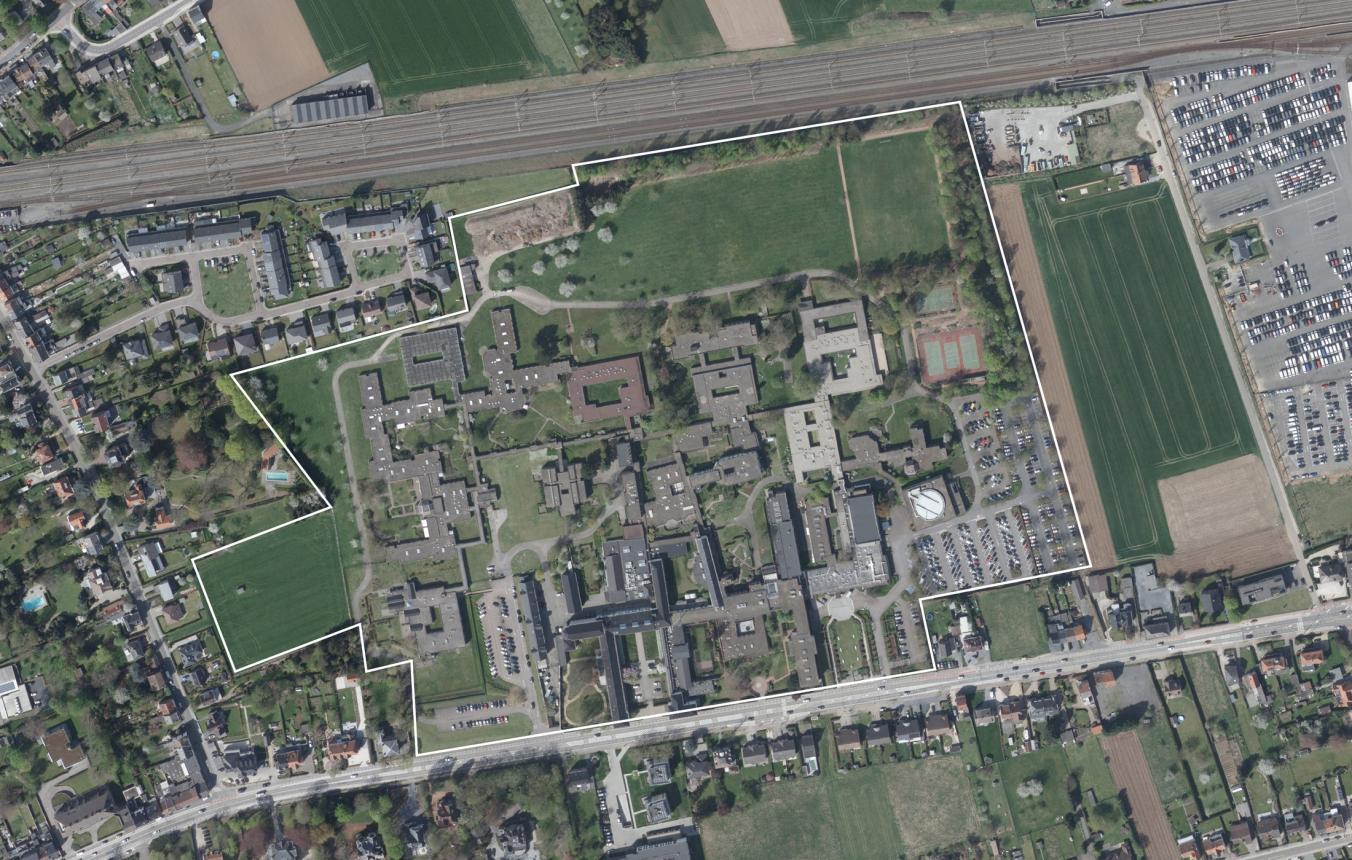 OO3708_Luchtfoto_UPC KU Leuven Kortenberg ©GDI-Vlaanderen