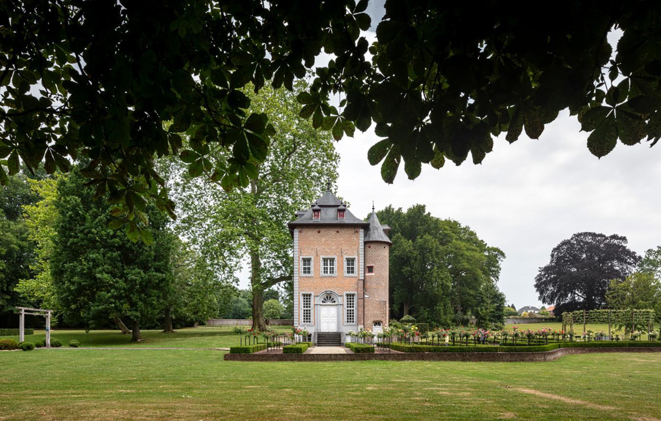 Locatiefoto projectsite OO4008 Sint-Pieters-Leeuw Coloma Rozentuin