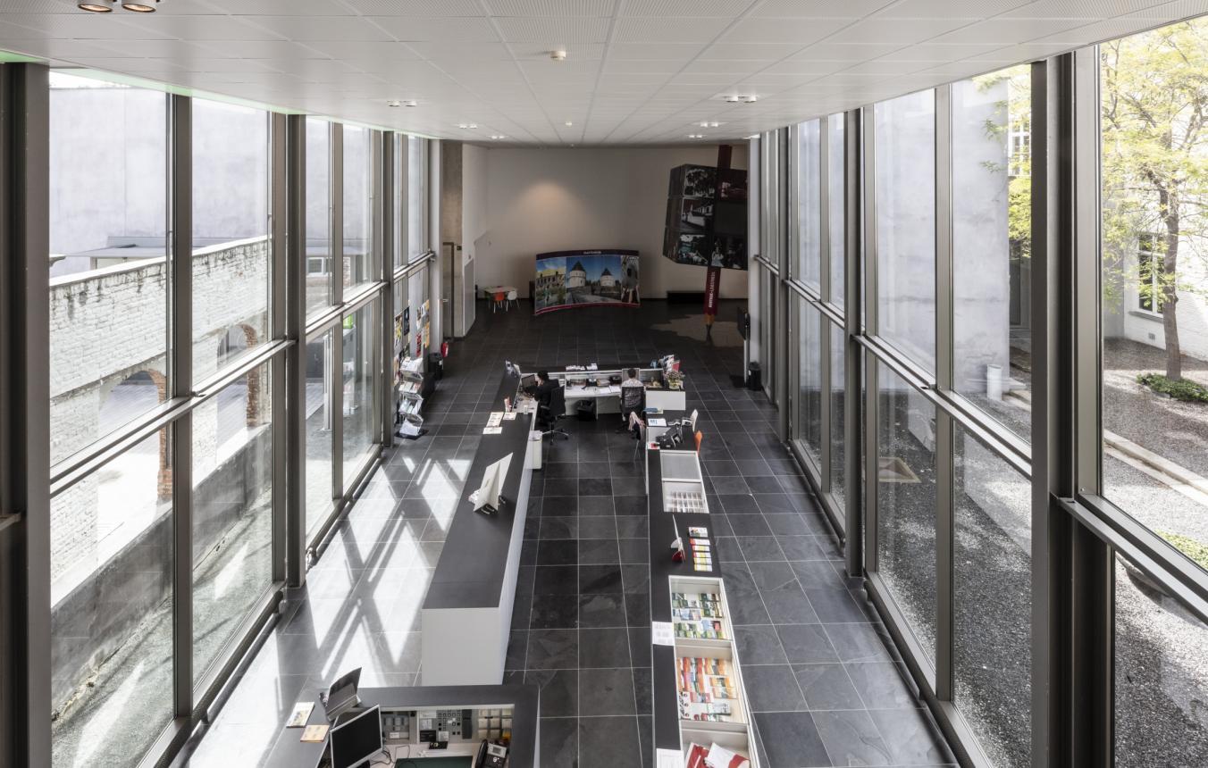 Sitefoto's OO3803 Tentoonstellingssite Kortrijk