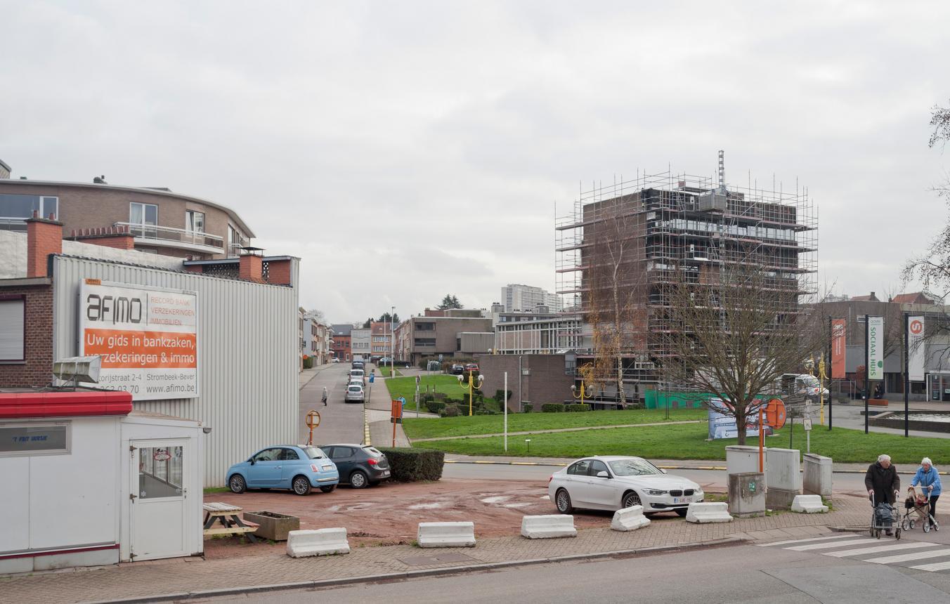 OO3104 OCMW gebouw en bibliotheek Grimbergen ©Michiel De Cleene