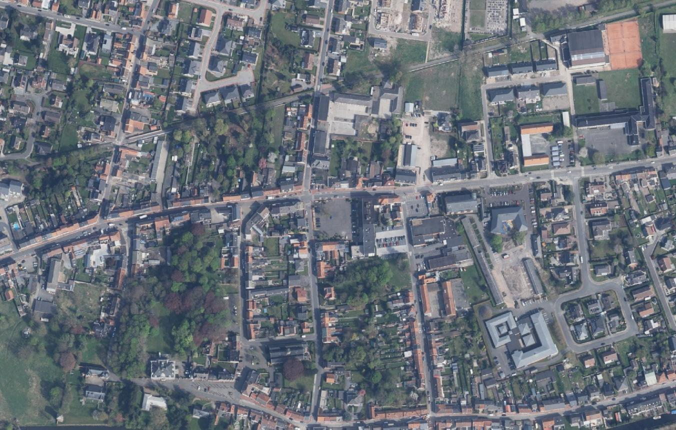 OO3407 luchtfoto Masterplan Moerbeke