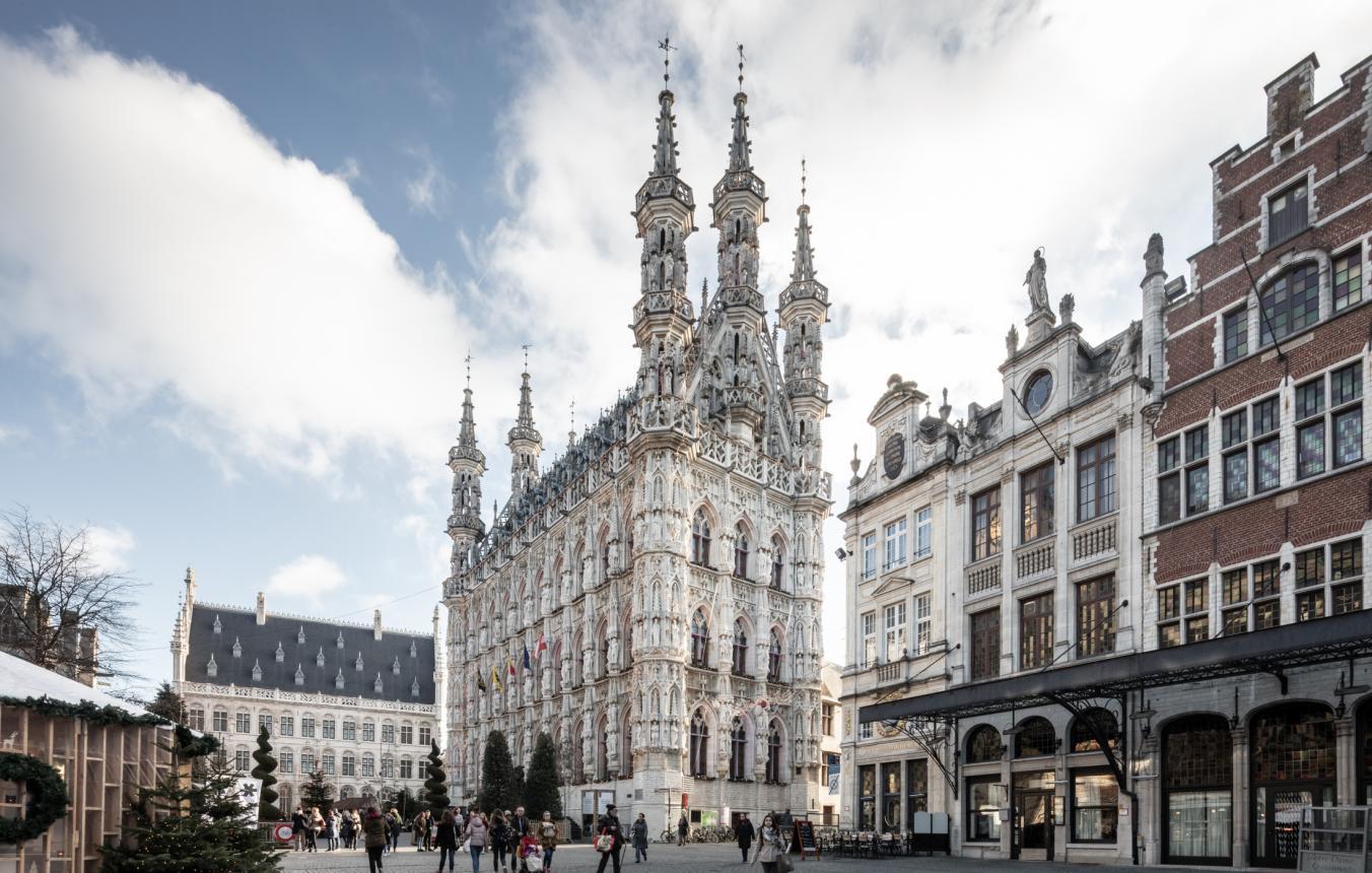 Sitefoto's OO3703 stadhuis Leuven