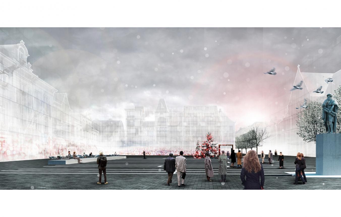 Masterplan © uapS Anne Mie Depuydt & Erik Van Daele
