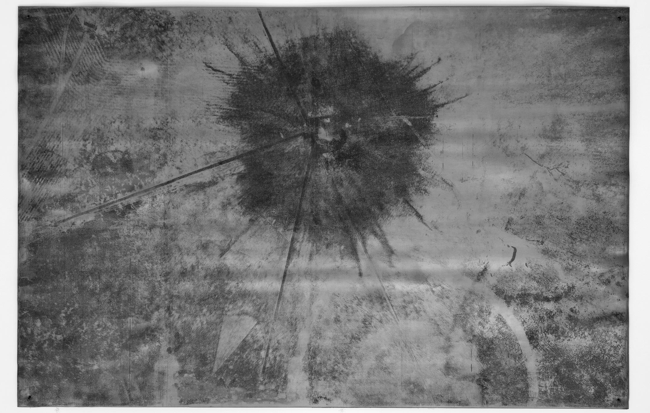Het kunstwerk 'Trinity Test' van Maarten Vanden Eynde