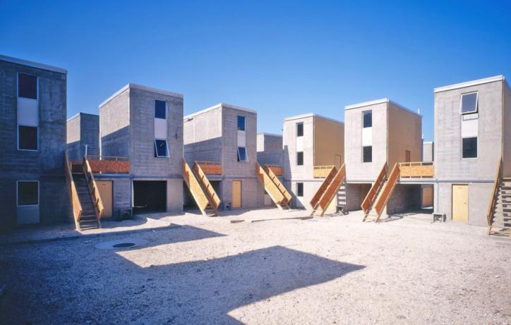 Quinta Monroy Housing, Iquique, 2014 van Alejandro Aravena, Laureaat Pritzker Prijs 2016 ©Cristobal Palma