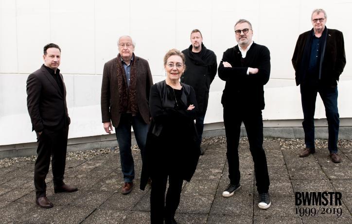 Historische ontmoeting tussen vijf Vlaams Bouwmeesters in Vlaams Architectuurinstituut op 23.02.2019 © Dries Luyten.