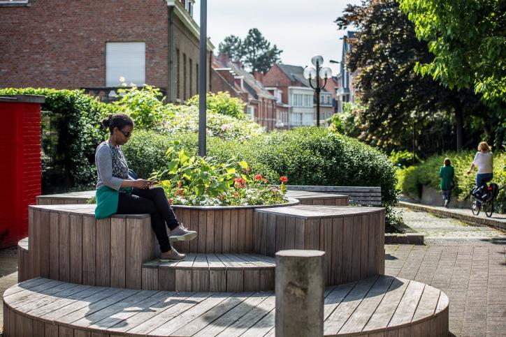 Belevingspleintje in Turnhout