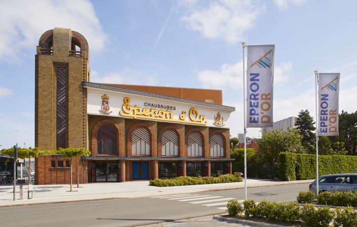 Eperon d'Or art-deco schoenfabriek naar museum