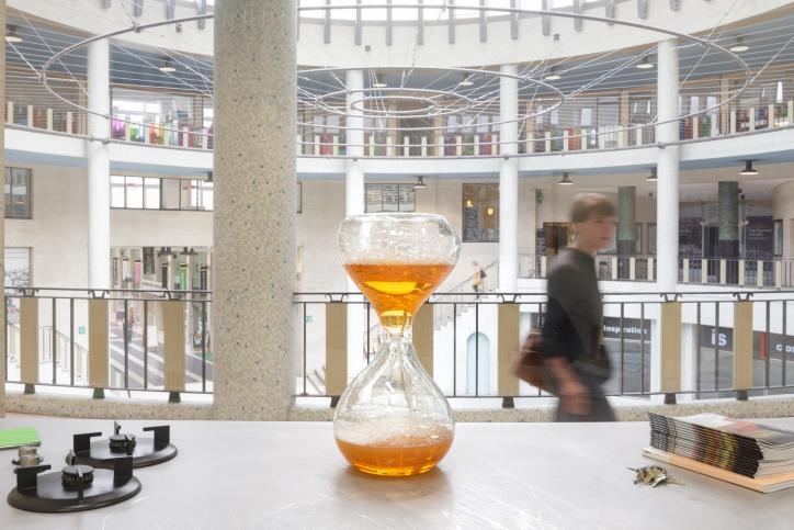 Suchan Kinoshita - 'En passant. Scenario voor een passage', picture by Stijn Bollaert