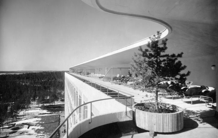 Sanatorium Paimio, Finland (arch. Alvar Aalto, 1932)