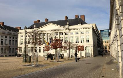 Kabinetsgebouwen Vlaamse overheid Martelarenplein