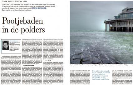 Pootjebaden in de polder - DeStandaard