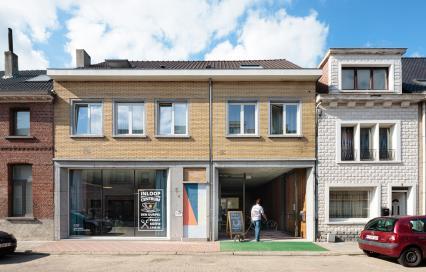 Foto van het gebouw Biekens in Sint-Niklaas