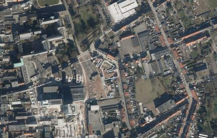 Luchtfoto inbreidingsproject Turnova