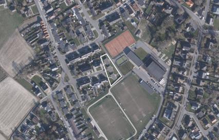 Luchtfoto tuinwijk Ruiselede