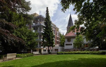 Project Het Portiek van het woonzorgcentrum De Korenbloem in Kortrijk